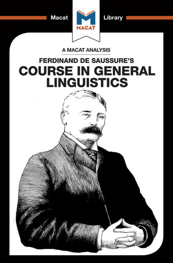 An Analysis of Ferdinand de Saussure's Course in General Linguistics book cover