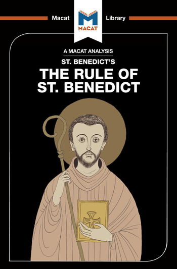 Rule of St Benedict book cover