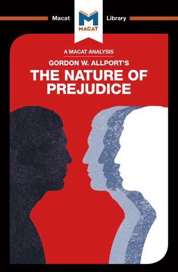 The Nature of Prejudice book cover