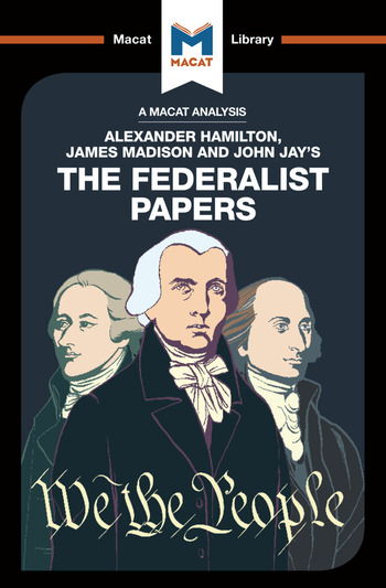 The Federalist Papers book cover