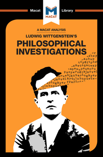 Philosophical Investigations book cover