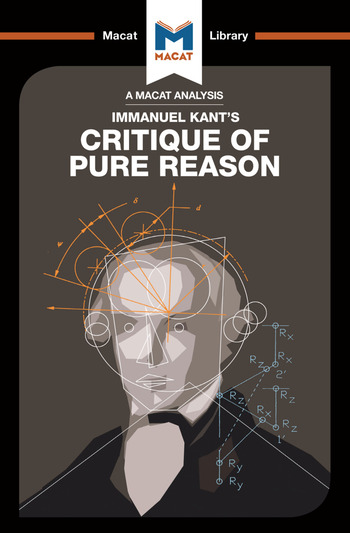 An Analysis of Immanuel Kant's Critique of Pure Reason book cover