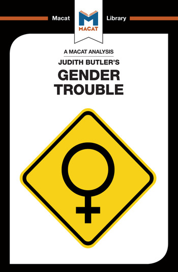An Analysis of Judith Butler's Gender Trouble book cover