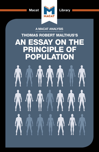 An Essay on the Principle of Population book cover