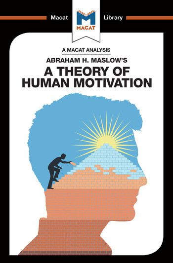 An Analysis of Abraham H. Maslow's A Theory of Human Motivation book cover