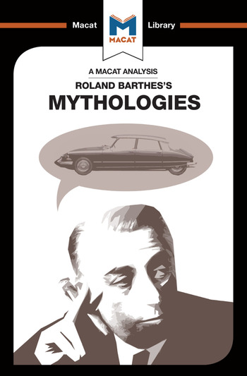 Mythologies book cover