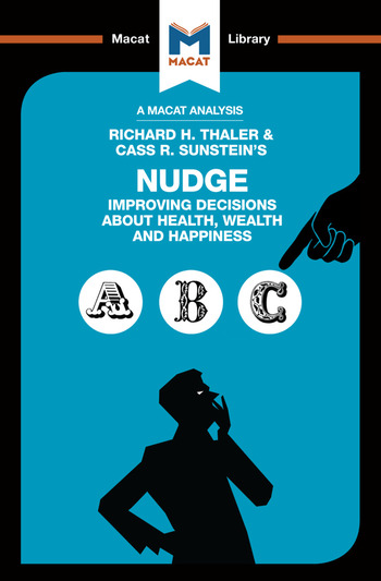 Nudge Improving Decisions About Health, Wealth and Happiness book cover