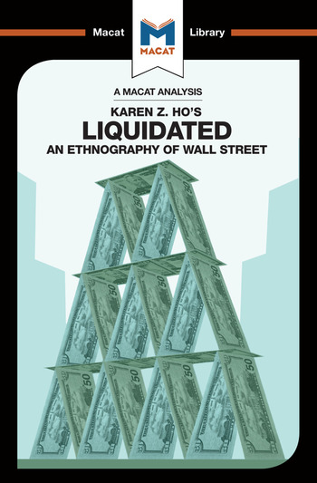 Liquidated An Ethnography of Wall Street book cover