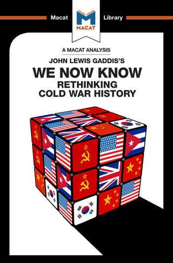 We Now Know Rethinking Cold War History book cover
