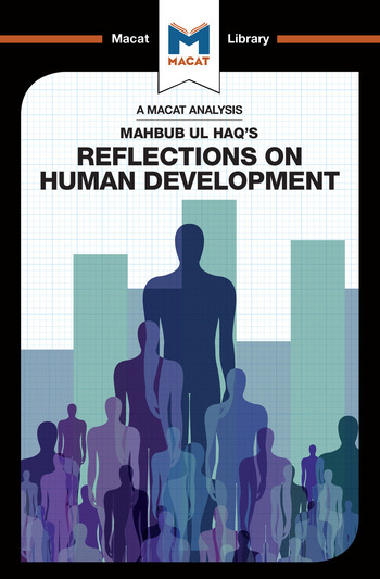An Analysis of Mahbub ul Haq's Reflections on Human Development book cover