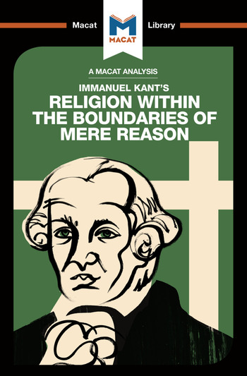 An Analysis of Immanuel Kant's Religion within the Boundaries of Mere Reason book cover