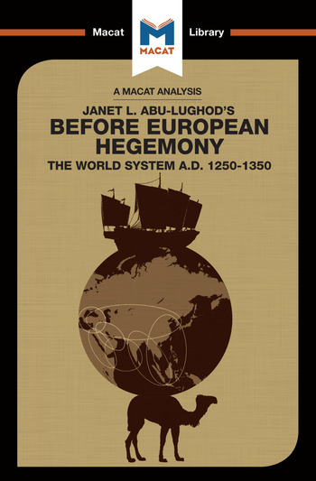 Before European Hegemony The World System A.D. 1250 - 1350 book cover