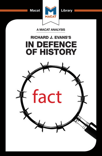 An Analysis of Richard J. Evans's In Defence of History book cover