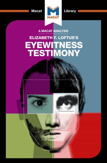An Analysis of Elizabeth F. Loftus's Eyewitness Testimony book cover