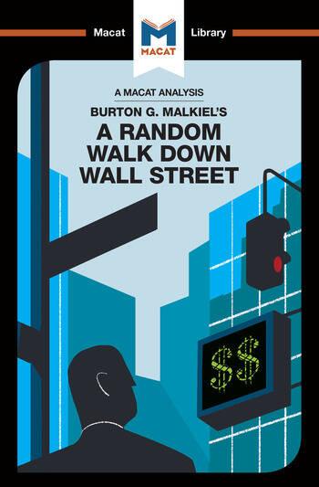 Burton Malkiel's A Random Walk Down Wall Street book cover