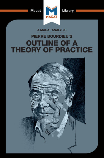 Pierre Bourdieu's Outline of a Theory of Practice book cover