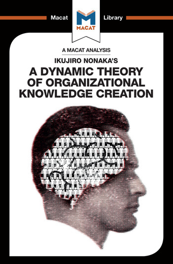 Ikujiro Nonaka's A Dynamic Theory of Organisational Knowledge Creation book cover
