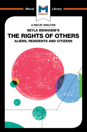 Seyla Benhabib's The Rights of Others Aliens, Residents, and Citizens book cover
