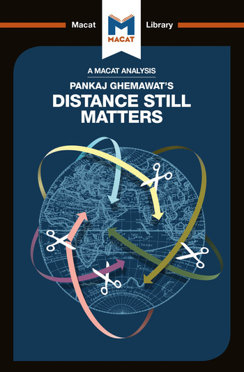 Pankaj Ghemawat's Distance Still Matters The Hard Reality of Global Expansion book cover