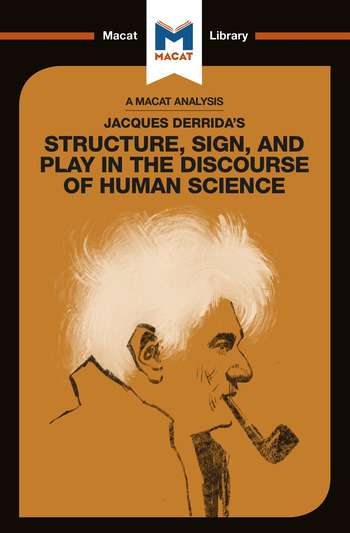 Jacques Derrida's Structure, Sign, and Play in the Discourse of Human Sciences book cover