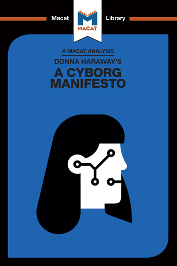 Donna Haraway's A Cyborg Manifesto book cover