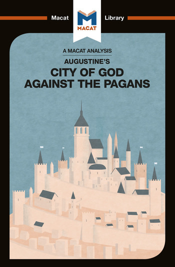 Augustine of Hippo's The City of God Against the Pagans book cover
