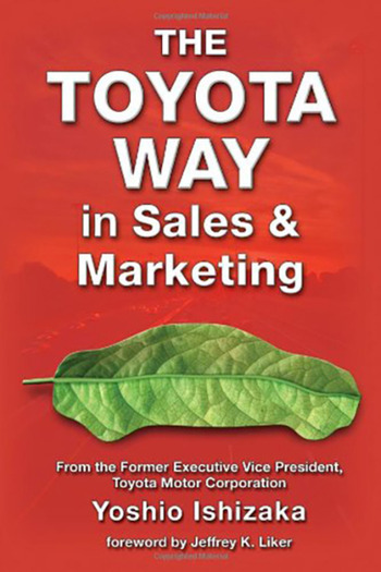 The Toyota Way in Sales and Marketing book cover