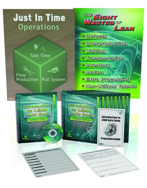 Intro to Lean Auto Body Training Package book cover