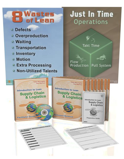 Introduction to Lean Supply Chain and Logistics Training Package book cover