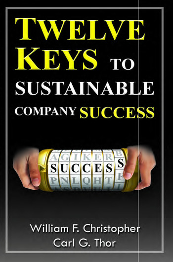 Twelve Keys to Sustainable Company Success book cover