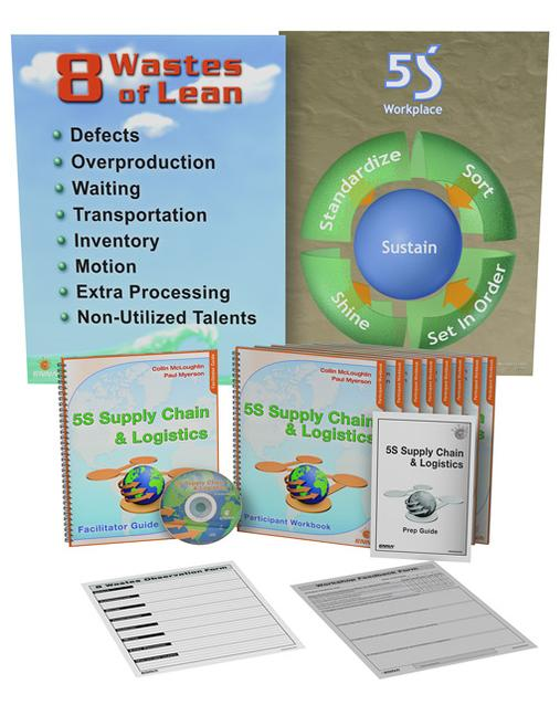 5S Supply Chain & Logistics Training Package book cover