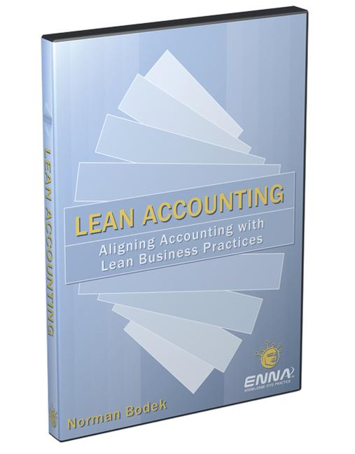 Lean Accounting DVD book cover