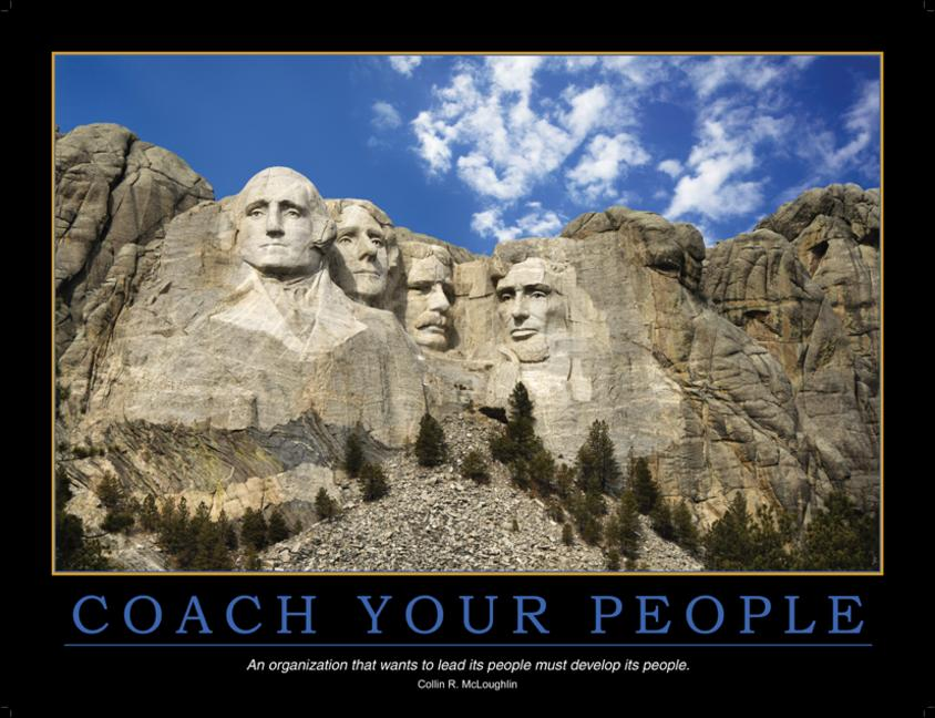 Coach Your People Poster book cover