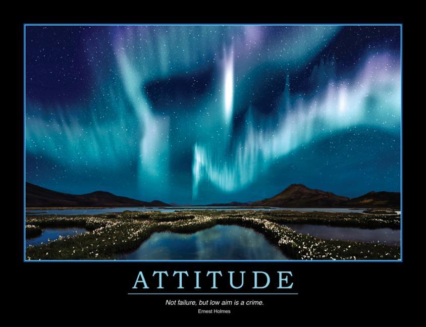 Attitude Poster book cover