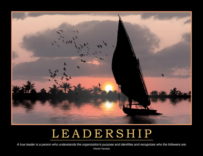 Leadership Poster book cover