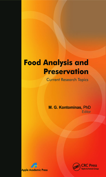 Food Analysis and Preservation Current Research Topics book cover