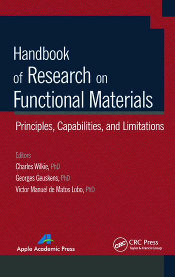 Handbook of Research on Functional Materials Principles, Capabilities and Limitations book cover