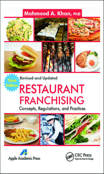 Restaurant Franchising Concepts, Regulations and Practices, Third Edition book cover