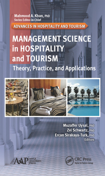 Management Science in Hospitality and Tourism Theory, Practice, and Applications book cover