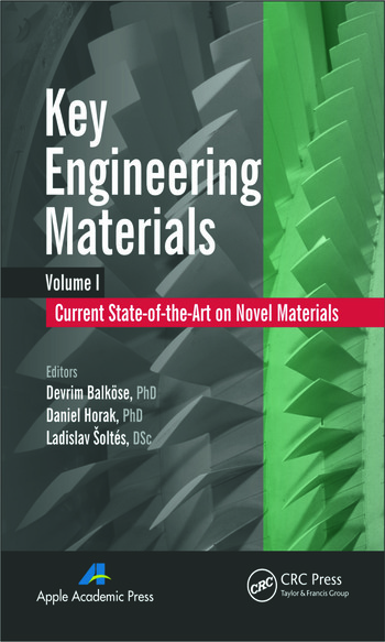Key Engineering Materials, Volume 1 Current State-of-the-Art on Novel Materials book cover