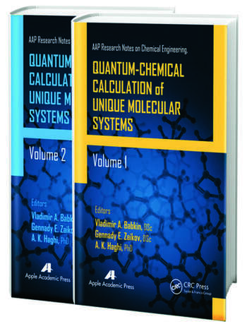 Quantum-Chemical Calculation of Unique Molecular Systems, Two-Volume Set book cover