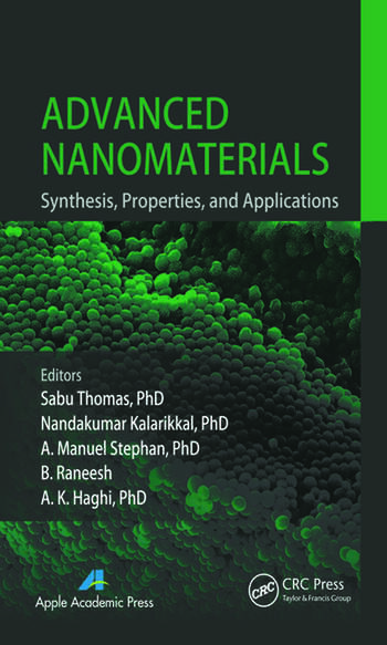 Advanced Nanomaterials Synthesis, Properties, and Applications book cover