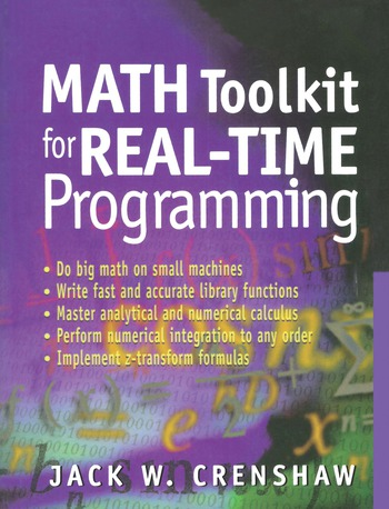 Math Toolkit for Real-Time Programming book cover