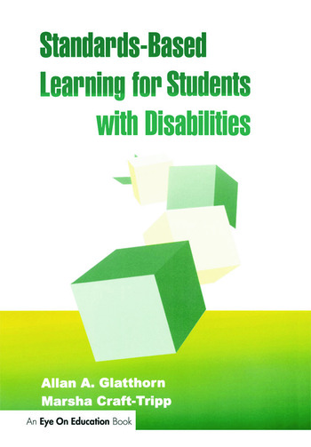 Standards-Based Learning for Students with Disabilities book cover