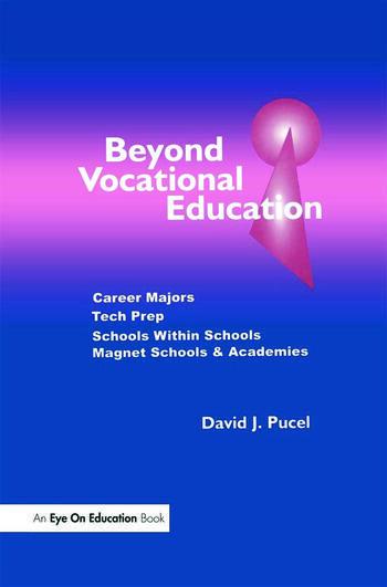 Beyond Vocational Education Career Majors, Tech Prep book cover