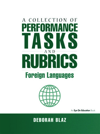 Collections of Performance Tasks & Rubrics Foreign Languages book cover