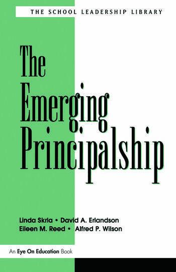 Emerging Principalship, The book cover