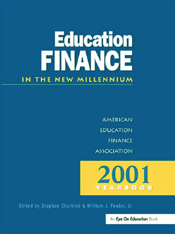 Education Finance in the New Millenium book cover