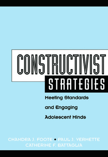 Constructivist Strategies Meeting Standards & Engaging Adolescent Minds book cover
