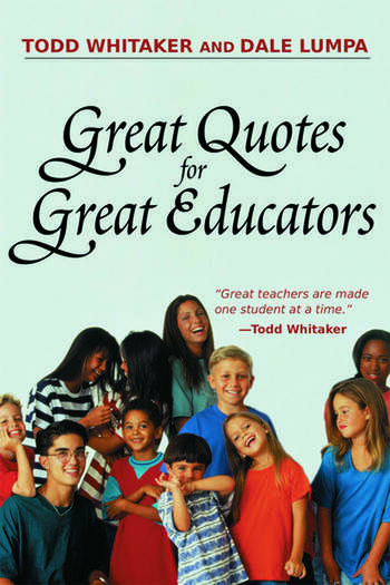 Great Quotes for Great Educators book cover
